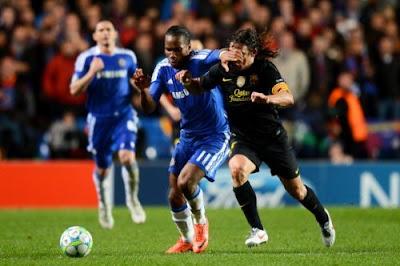 Chelsea Barcellona 1-0 highlights
