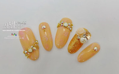 Beautiful Bridal Nail Art