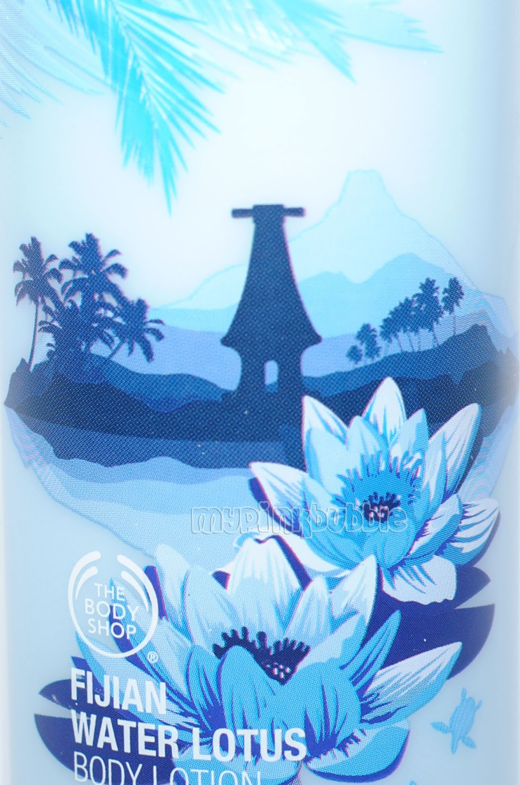 Fijian water lotus packaging