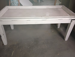 Long coffee table $125