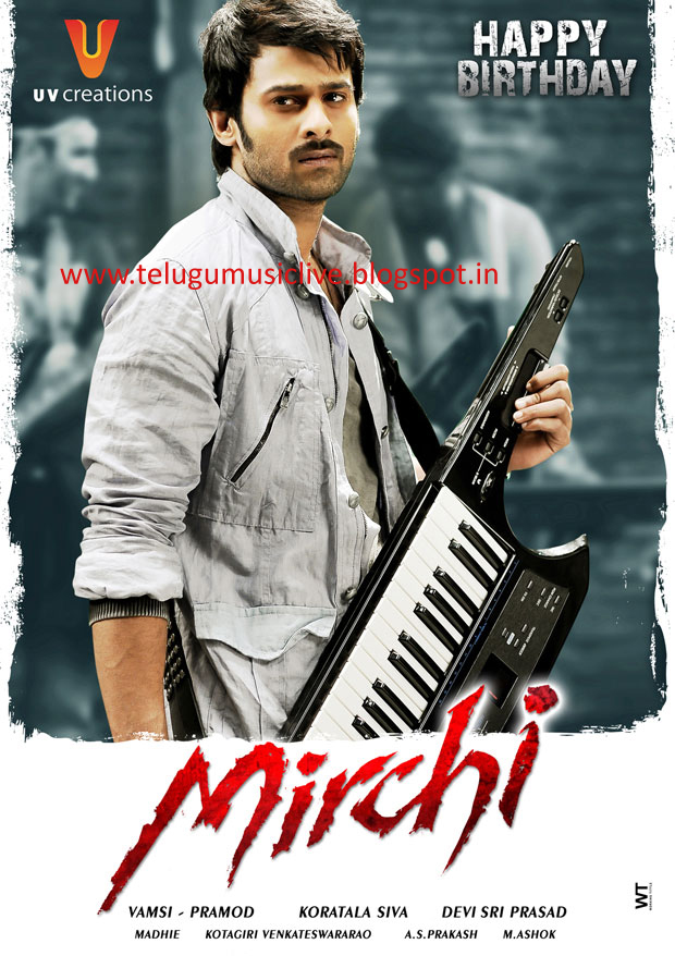 prabhas mirchi(2013)  movie songs free download