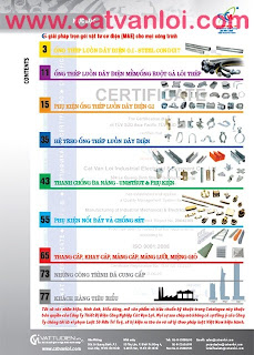 Ống thép luồn dây điện mềm có bọc nhựa KAIPHONE/ CATVANLOI -Water-proof Flexible Metallic Conduit (W.PFMC); Ống thép luồn dây điện mềm không bọc nhựa- Flexible Metallic Conduit