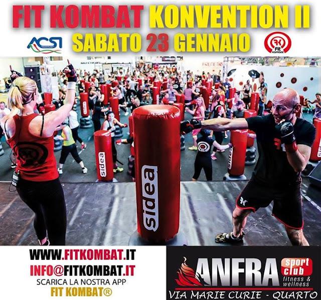 Fit Kombat Convention II, il 23 gennaio 2016 a Quarto, Napoli