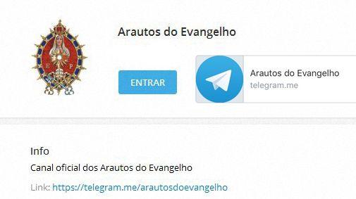 Arautos Telegram
