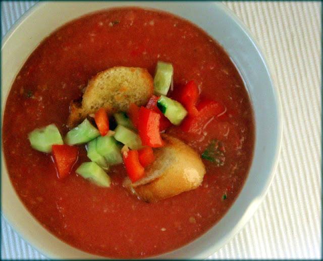gaspacho, gazpaczo, chłodnik z pomidorów