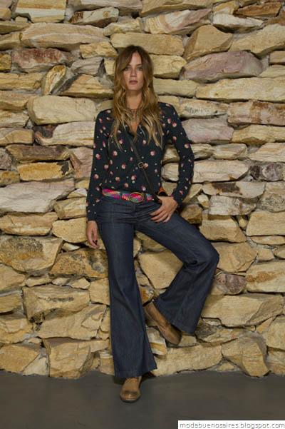Vov Jeans Moda otoño invierno 2012. Pantalones oxford moda 2012.