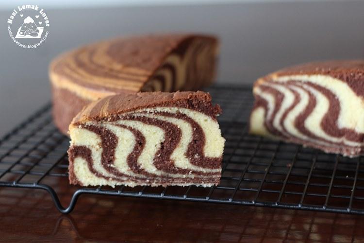 Striped Sponge Cake