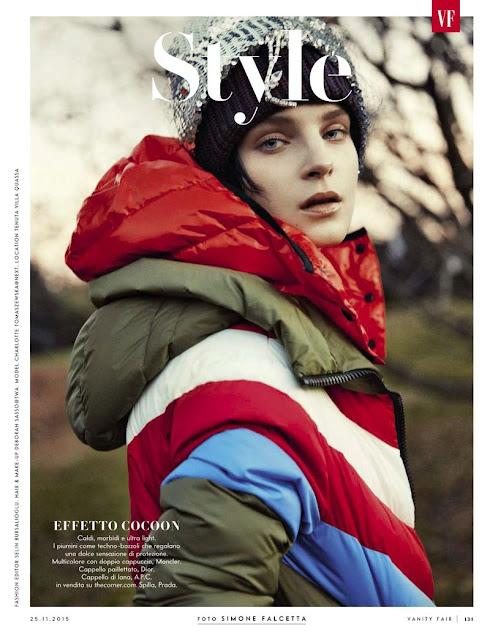 Fashion Model, @ Charlotte Tomaszewska for Vanity Fair Italy