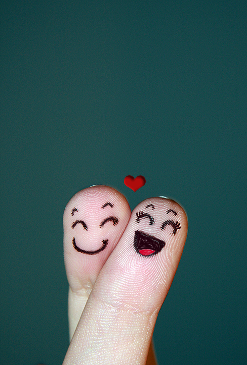 sepasang kekasih lukisan jari sepasang kekasih lukisan jari sepasang