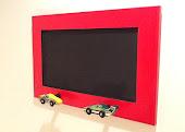 Red Race Car Chalk Board $29.95