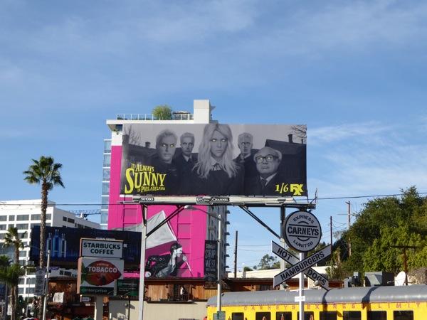 Always Sunny Philadelphia season 11 billboard