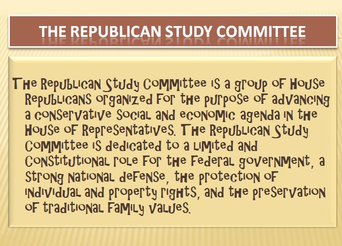 Republican study group members