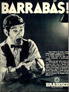 1970.os anos 70; propaganda na década de 7.Brazil in the 70s. Oswaldo Hernandez;