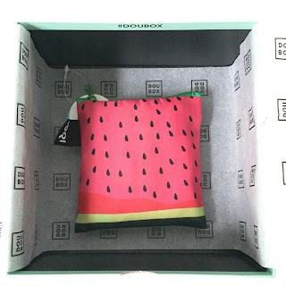 Doubox Juni 2015 LOQI Tasche Frutti Watermelon Douglas Unboxing