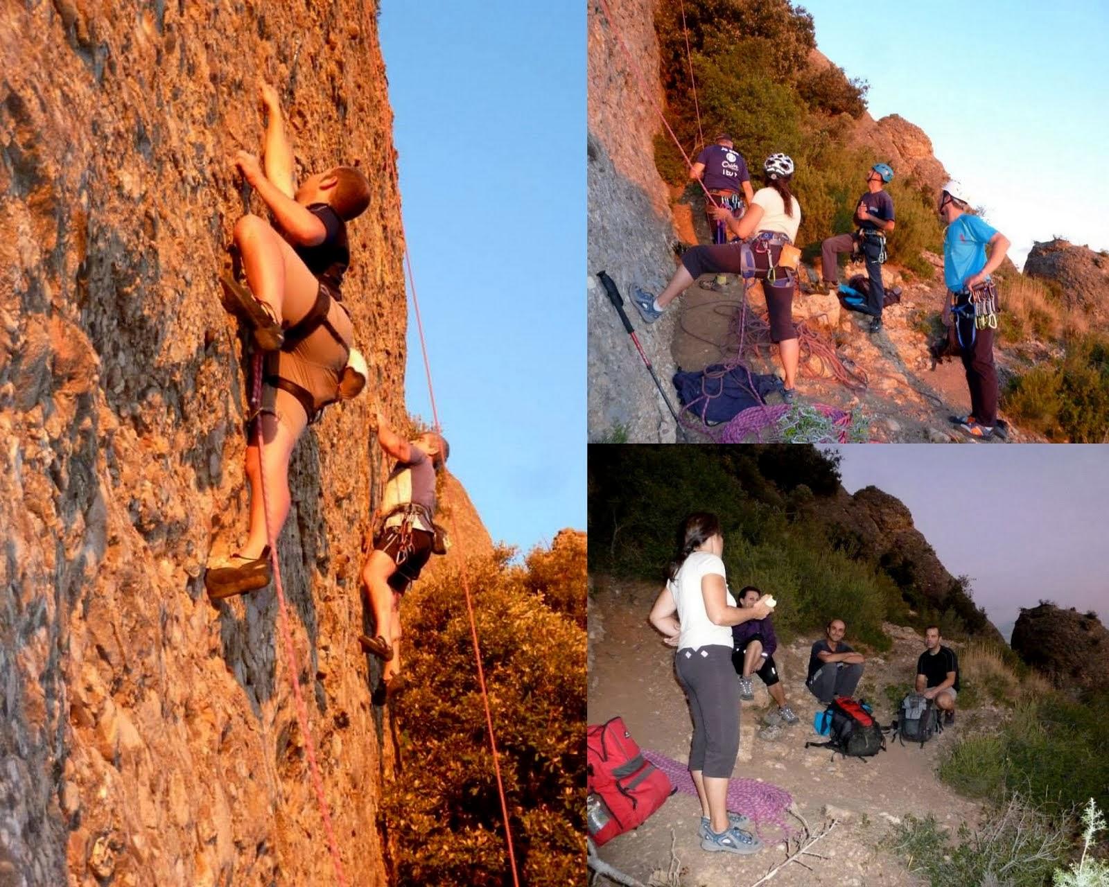 Escalada Esportiva al Gerro i La Roca del Tambor Gran
