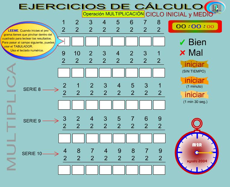 http://www.gobiernodecanarias.org/educacion/3/WebC/eltanque/fichascalculo/serie_6_10m.html