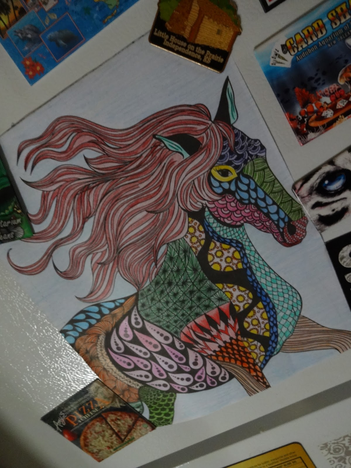 Color art living wonders - Color Art Living Wonders This Week I Have Been Coloring In Living Wonders Color Art