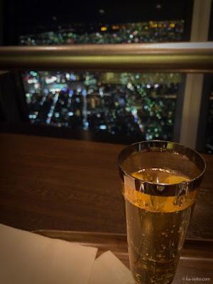 東京スカイツリーで一服