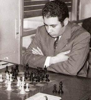 El ajedrecista Joan Bautista Sánchez