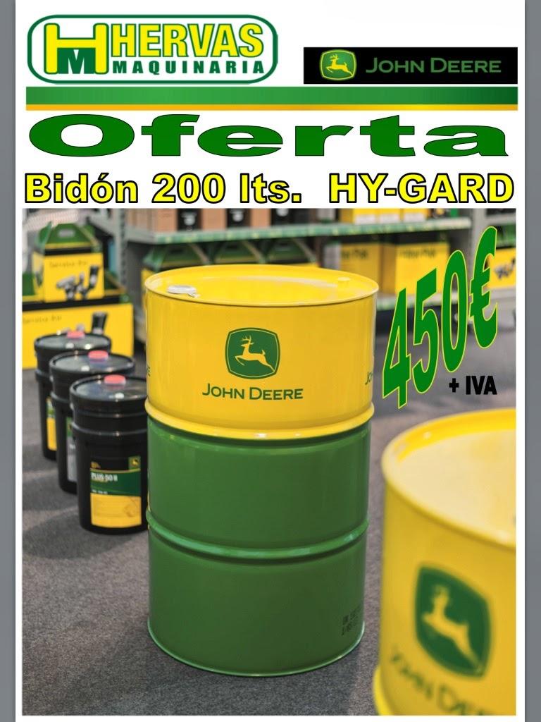 Oferta de bidones de aceite