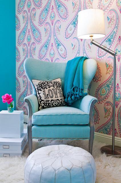 blog achados de decora o quarto decorado com a. Black Bedroom Furniture Sets. Home Design Ideas