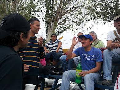 Sabado 13 de Abril, nuestra barra frente a Melipilla