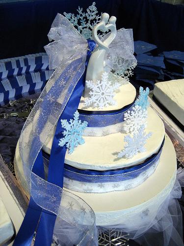 Wedding Cakes Winter Wonderland Cake Ideas