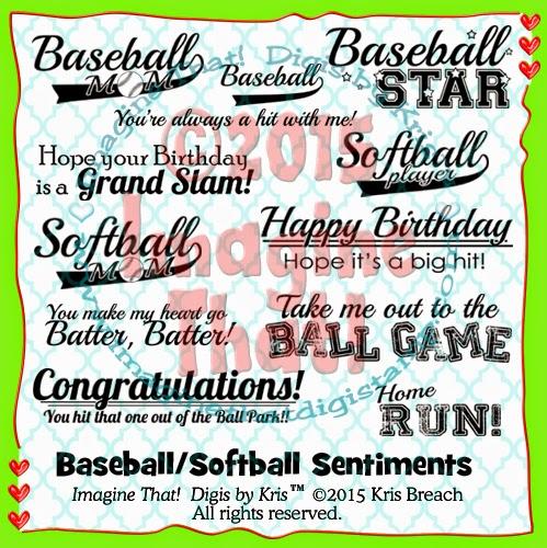 Edwinas Creations Imagine That 12 X 12 Baseball Scrapbook Page