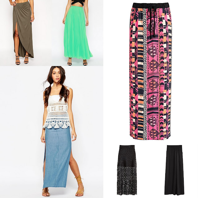 STYLING MAXI SKIRTS