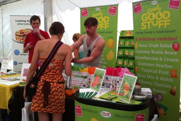 VegFest Bristol 2012 - stall - Good Stuff