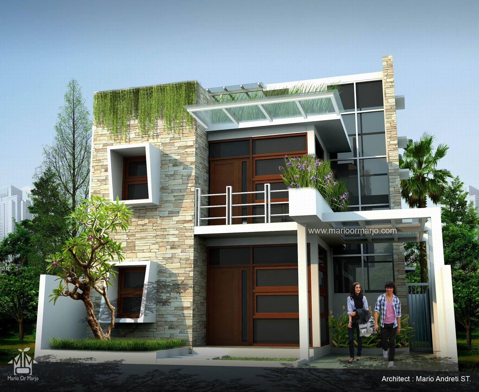 Modern tropical house joy studio design gallery best for Tropical style house plans