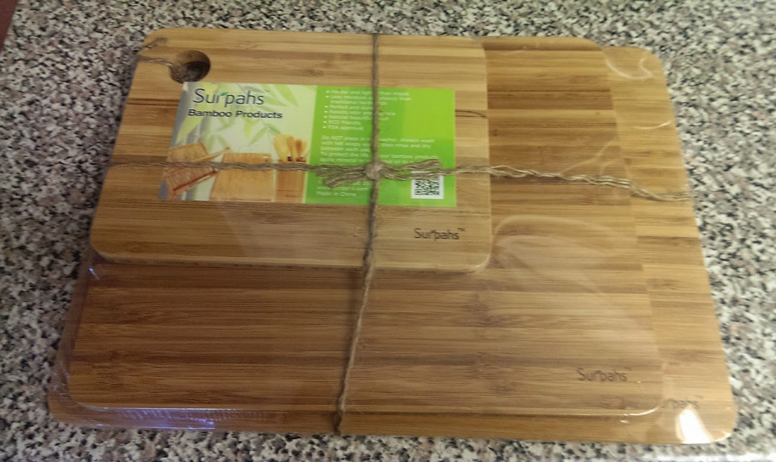 Suprahs+cutting+board Surpahs Kitchen 3-Layer Cross-Laminated Bamboo Cutting Board Set Review