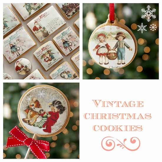 Galletas decoradas Navidad estilo Vintage