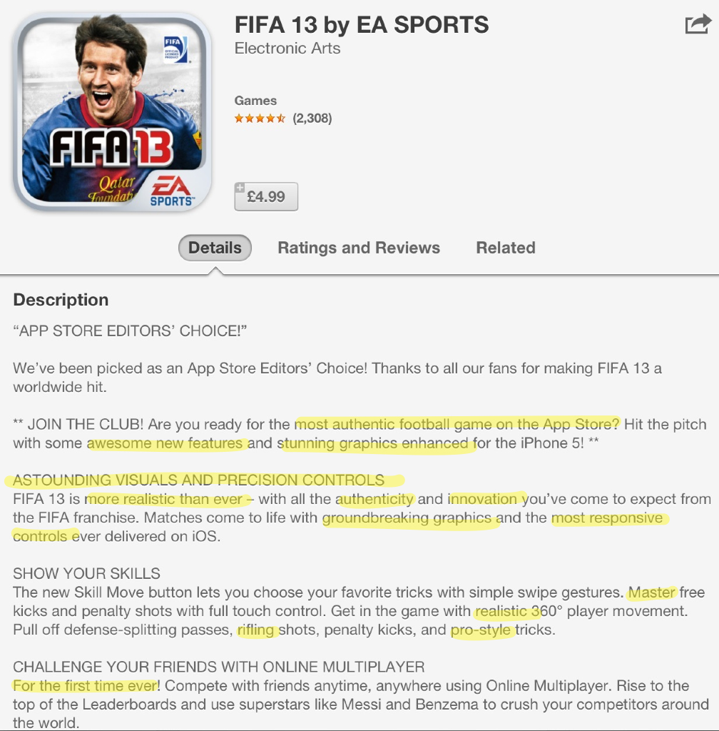 inspiring children transforming learning using the app store for fifa13 persuasive language in the app store