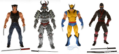 "Hasbro Wolverine All-Stars 3.75"" figures"