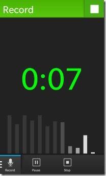 ¿Buscas una aplicación de grabación de voz simple, pero eficaz para tu BlackBerry 10? Parrot podría ser justo lo que necesitas. La aplicación consta de una interfaz de usuario simple, Con solo un toque puedes comenzar a grabar ya sea un archivo de voz o de música. Al utilizar está aplicación obtienes un gráfico directo en la pantalla durante la grabación que muestra los niveles de volumen. Una vez que tengas tu grabación guardada puedes compartirla fácilmente a través de BBM, correo electrónico, SMS, Bluetooth, NFC y más. Está aplicación es gratuita y puedes descargarla desde BlackBerry World AQUI