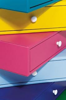 Renkli Şifonyer Tasarımı