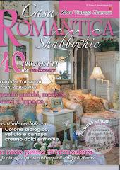 """La mia casa è sulla rivista         """"Casa Romantica Shabby Chic"""""""