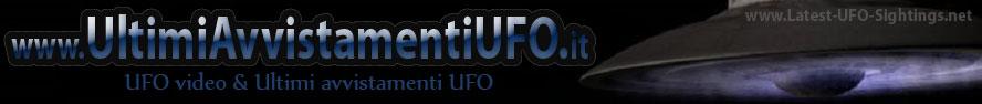 Ultimi avvistamenti ufo