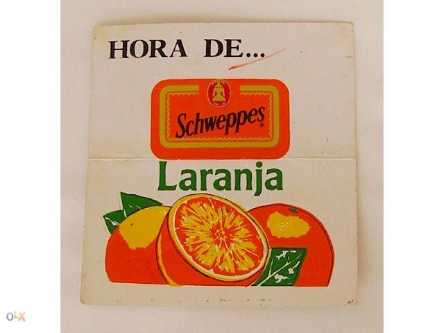 ... da Laranjada Schweppes