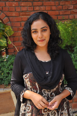 nitya menon new @ okkadine onlocation