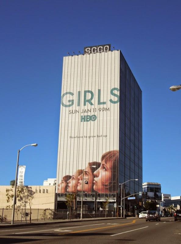 Giant Girls season 4 billboard Sunset Strip