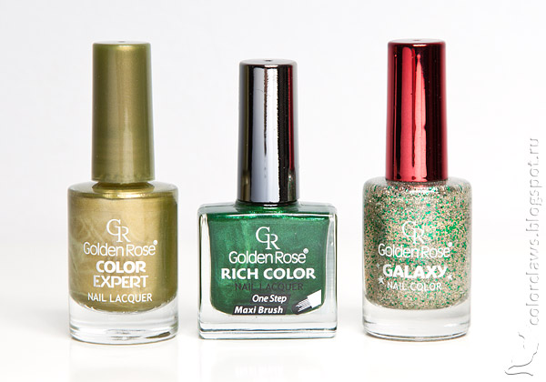 Golden Rose Color Expert #93 + Rich Color #110 + Galaxy #19