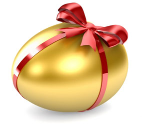 asal mula telur paskah?