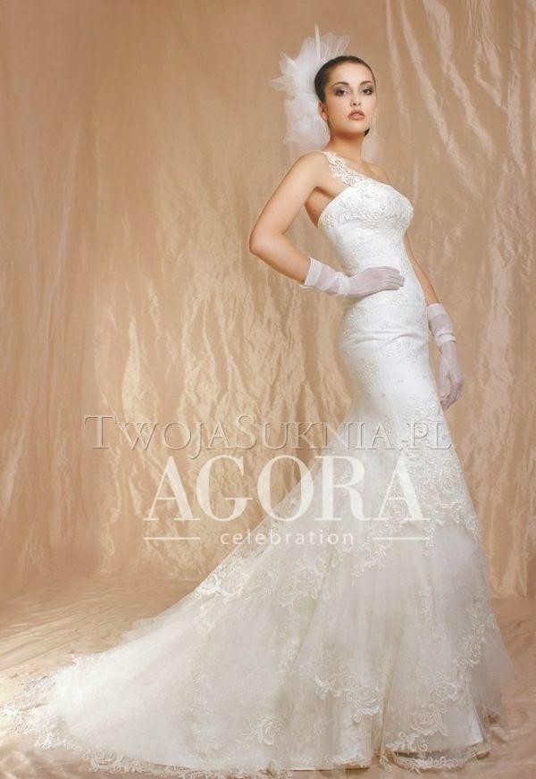 Suknie ślubne Vestido Suknia ślubna Firmy Agora Model 11 13
