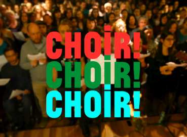 Choir! Choir! Choir! @ Harbourfront's WestJet Stage, Friday, 8pm, Free