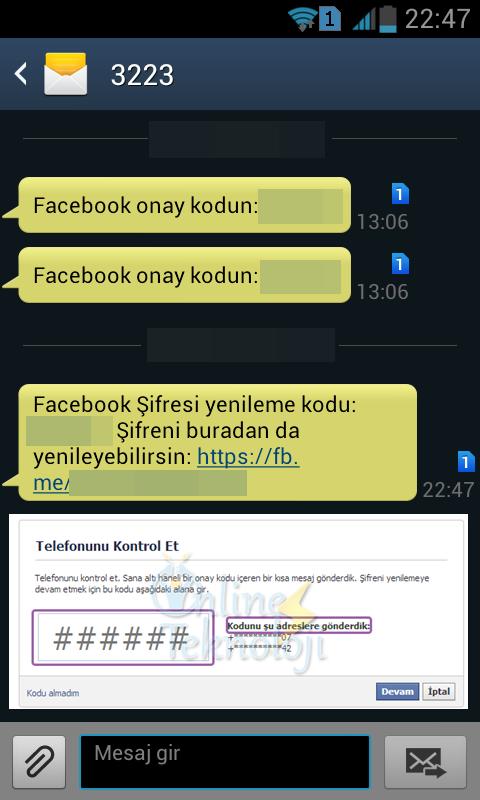 facebook şifresini unuttum nasıl geri alabilirim