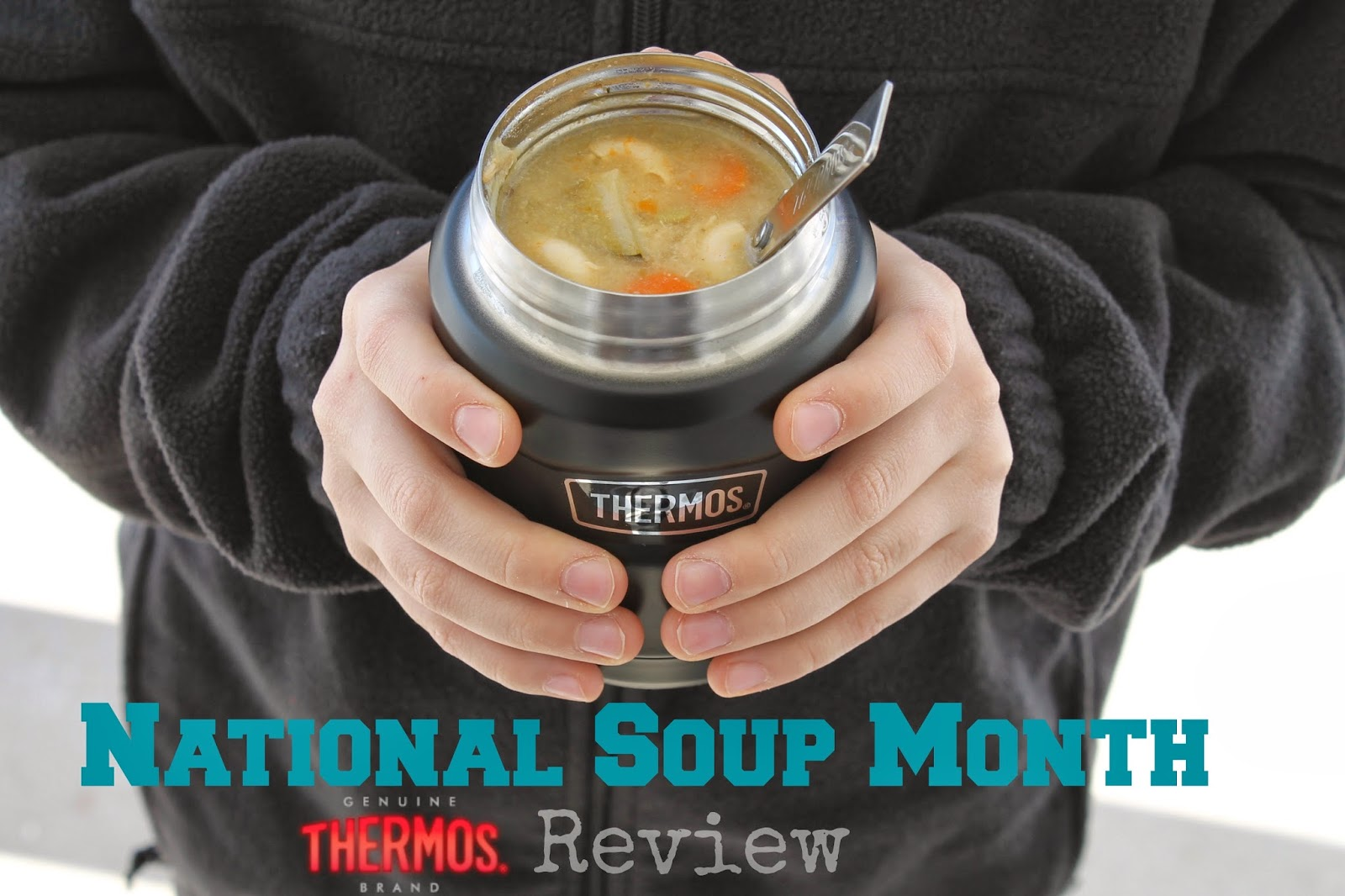 National Soup Month - a Thermos Review from mamabelly.com