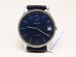 ENICAR BLUE DIAL - AUTOMATIC AR 169D - 27 JEWELS