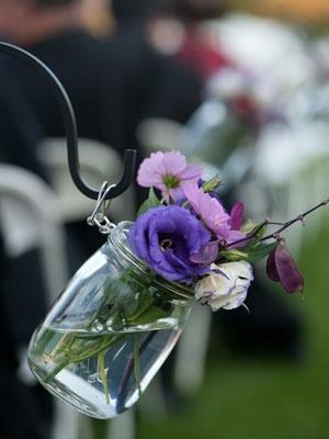 arranjo de flor simples